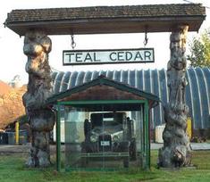 Teal Cedar
