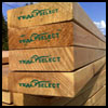 tight knot 4 square decking